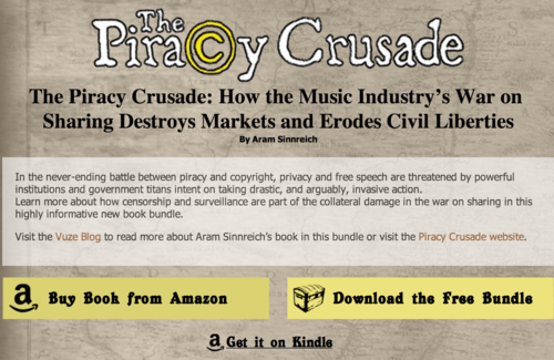 The Piracy Crusade  Free Content Bundle from Vuze